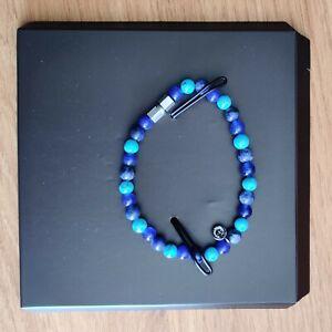 Brand new Tateossian bracelet multi blue colour