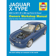 [5631] Jaguar XType 2.0 2.5 3.0 Petrol 2.0 2.2 Diesel 2001-10 Haynes Workshop Ma
