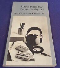 1976 KURSUS PERMULAAN BAHASA MALAYSIA 1 Paperback Book by RASDI & ALI