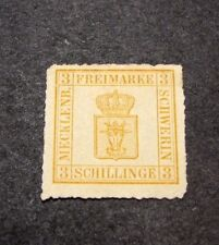 Germany Mecklenburg-Schwerin  Stamp Scott# 8  Coat of Arms 1864-67  C402