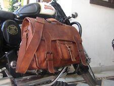 """Bag S Genuine Brown Leather Messenger Shoulder Laptop,Office,Briefcase Bag 18"""""""