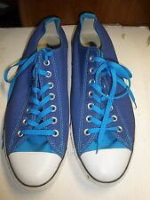 Converse All Star Chuck Taylor blue sneakers size M 12 W 14