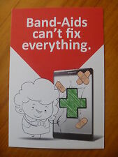 POSTCARD..RED CROSS..MOBILE INTERACTIVE FIRST AID APP...RED CROSS COLLEGE