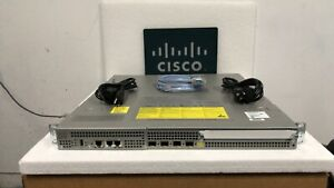 CISCO ASR1001 GigE Aggregation Services Router 4 BUILT-IN GE PORTS DUAL POWER AC