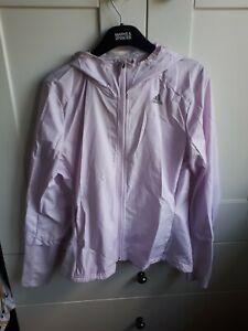Adidas Lilac Running Jacket Size S 8/10