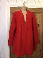 Papaya Women's Ladies Top Cardigan Red Size L Uk 14/16