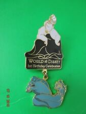 WORLD OF DISNEY 1ST BIRTHDAY Anniversary CELEBRATION URSULA DANGLE PIN EELS card