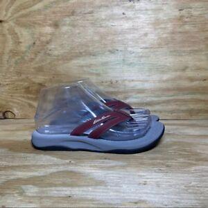 Eddie Bauer Flip Flop Sandals, Women's size 7.5, Red