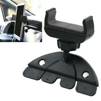 Car 360 CD Slot Mount Holder Stand Cradle For Cell Phone GPS iPhone Samsung Note
