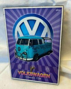 VW Bus Classic car Decor Volkswagen Gift Hanger Key Rack Auto sign picture