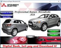 FACTORY SERVICE REPAIR MANUAL FSM MITSUBISHI RVR ASX 2011 - 2012