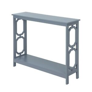 Convenience Concepts Omega Console Table, Gray - 203230GY
