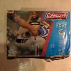 Coleman 4 Person Navigator Boat Used