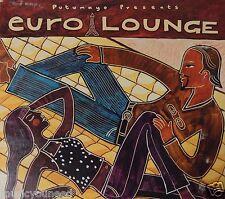 Putumayo Presents: Euro Lounge - Various Artists (CD 2003) VG++ 9/10