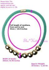 Modeschmuck-Halsketten & -Anhänger mit Türkis-Perlen