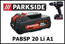 2,5Ah Bateria taladro Parkside PAPP 20 A1 20v Battery drill  PABSP 20 Li A1