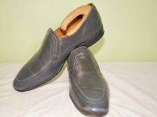 Loake Grey Slip On Shoes MAXTON UK10.5 EU 44  US11 Extra Wide Fitting