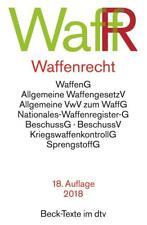 Waffenrecht %7c 2018 %7c deutsch %7c NEU