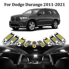 17pcs Xenon White Led Interior Light Package Kit For Dodge Durango 2011 2021