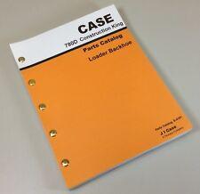 CASE 780D CONSTRUCTION KING LOADER BACKHOE PARTS MANUAL CATALOG EXPLODED VIEW CK