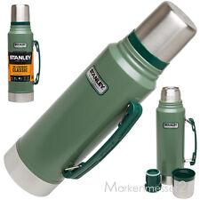 STANLEY gn 1L Army Vakuumflasche Thermoskanne Thermosflasche Teekanne Kaffekanne