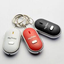 LED Schlüsselfinder Taschenlampe Gadget Schlüssel Key Finder Pfeifen Schön Neu