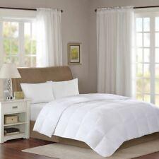 LuxLEVEL 1 - White 300 Thread Count Cotton Sateen Down Comforter w/3M Scotchgard