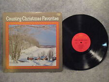 33 RPM LP Record Country Christmas Favorites 1972 Columbia Special C 10876 EXC
