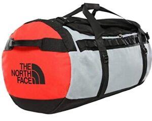 BNWT The North Face Gilman Duffle Bag -  Medium - Red/Grey