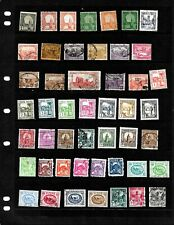 TUNISIA: NICE 'VINTAGE' STAMP COLLECTION DISPLAYED ON 3 SHEETS. SEE SCANS