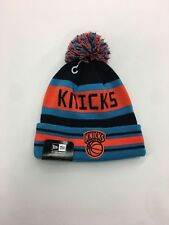 New Era Rare New York Knicks Nice Knit Beanie Sample Cap