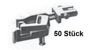 Fleischmann N 389545 PROFI-Steckkupplung (50 Stück) - NEU + OVP