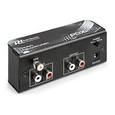 Power Dynamics PDX010 Pré-amplificateur pré-ampli stéréo pour ligne phono