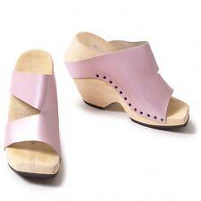 trippen Wood sole metallic design sandal Size 36(K-35259)