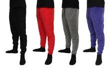 Men's Casual Sweatpants Fleece Jogger Pajama Workout Pants Draw String S-XL