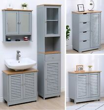 WestWood Bathroom Furniture Range Cabinet Under Sink Storage Mirror Cupboard
