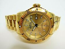 Invicta Automatic Pro Diver Men's Watch NH35A 49mm Gold 30549