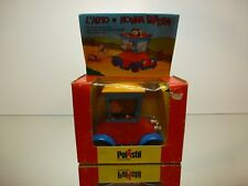 POLISTIL W3 WALT DISNEY GRANDMA DUCK IN CAR NONNA PAPERA - EXCELLENT IN BOX
