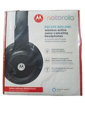 Motorola Escape 800 ANC Wireless Noise Canceling Headphones with Alexa Brand New