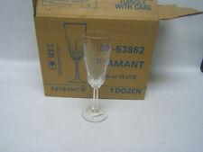 Luminarc Diamant 4 1/4 oz Flute Case of 12 NIB Durand Glass