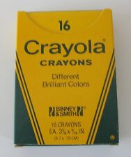 Vintage 1980's #16 Crayola Crayons Binney & Smith Inc.