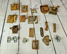 Lot of Vintage Closet Latches Cupboard Latches Cabinet Latches