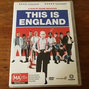 This is England DVD R4 Like New! FREE POST