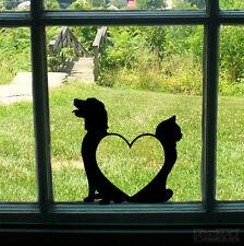 GATTO Cane Love PARAURTI Muro Casa Finestra Porta Decalcomania Sticker Animale Lover Shop