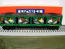 LIONEL TRAINS LRRC GREEN VAT CAR MIB NO MORE CARS TO BE MADE
