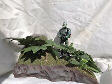 Star Wars The Black Series Jungle Diorama W/ FREE Clone Commander Gree