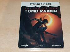 Shadow of The Tomb Raider Steelbook Case Only G2 (NO GAME) **NEW & SEALED**