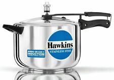 Hawkins Stainless Steel 8 Ltr Pressure Cooker Induction Friendly HSS80