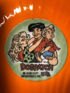 1968 Vintage Dogpatch USA Ceramic Ashtray - Li'l Abner, Daisy Mae, Honest Abe