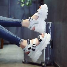 Summer Womens Sports Sandals Platform Wedge Heels Creepers Casual Shoes Open Toe